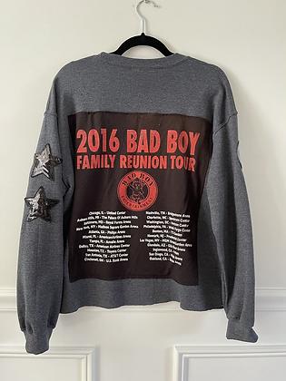 Upcycled Bad Boy Crew Neck Sweatshirt