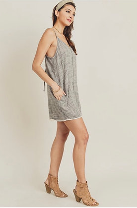 Gray Play Romper