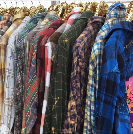 Upcycled Adult Flannels