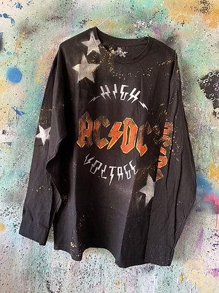 Stars & Splatter x AC/DC L/S Top