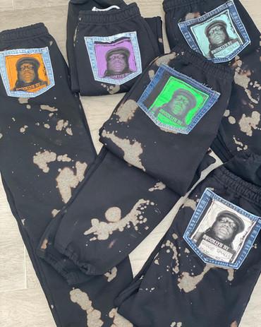 Upcycled Adult Biggie Sweatpants