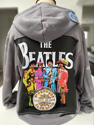 Adult Sgt. Peppers Upcycled Hoodie