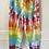 Thumbnail: Adult Rainbow Tie Dye Sweatpants