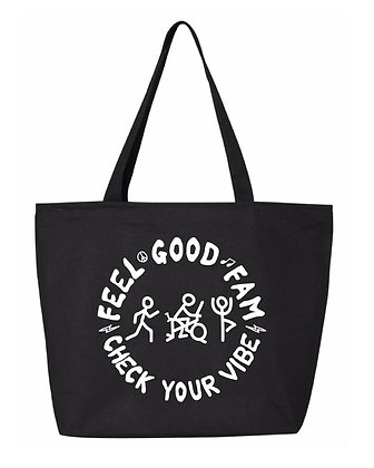 Feel Good Fam Zip Tote