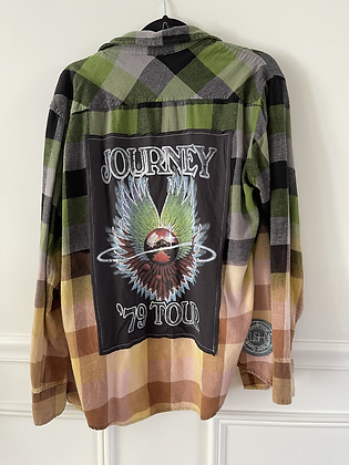 Adult Journey Upcycled Flannel