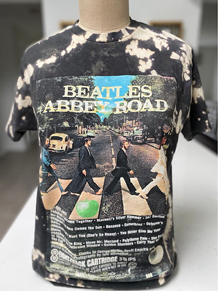Upcycled Abbey Road Tee