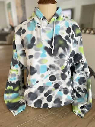 Adult Tie Dye Hoodie - Large