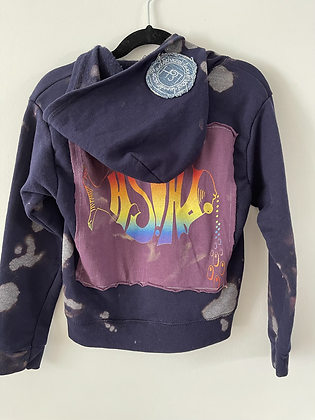 Youth Phish Upcycled Zip Up