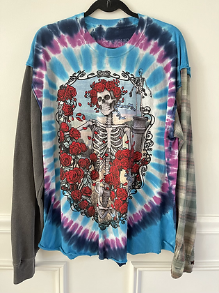 Grateful Dead Upcycled Tee