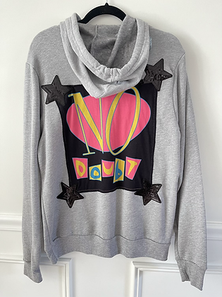 No Doubt Upcycled Hoodie