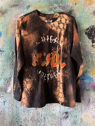 GG x AC/DC L/S Top