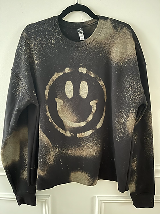 Adult Smiley Crew - LARGE