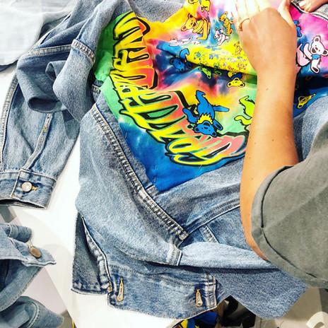 Upcycled Denim Jackets