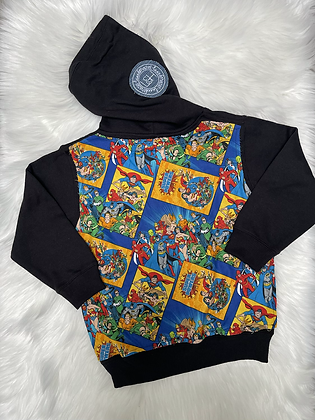 5/6T DC Comics Pullover Hoodie