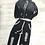 Thumbnail: Black Distressed Joggers