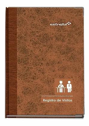REGISTRO DE VISITAS FORMA FRANCESA