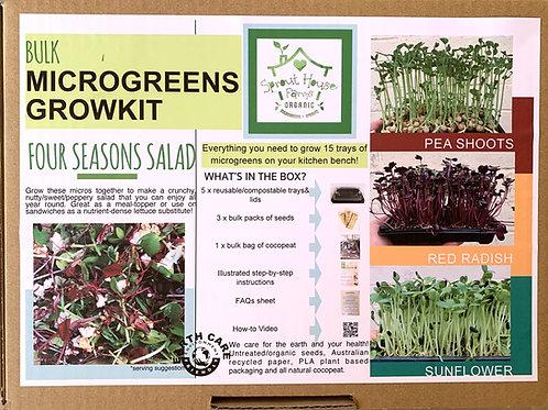 Four Seasons Salad Bulk Growkit