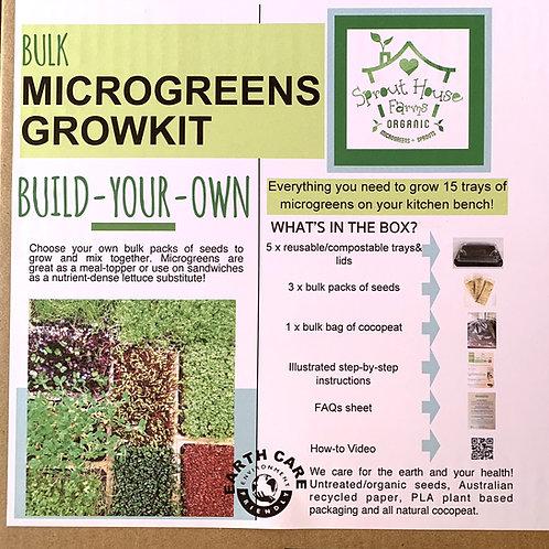 Build-Your-Own Bulk Growkit