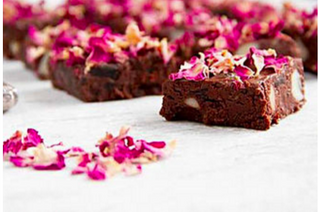 Raw Chocolate Flower Power Brownies