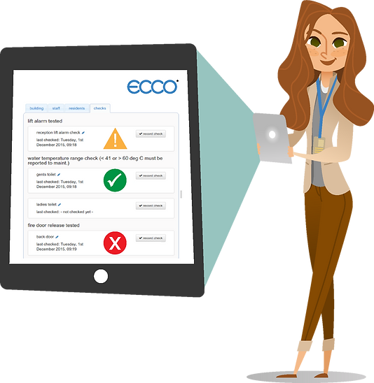 ECCO understands the essential element of any care and support service is the management of risks in an open and auditable way