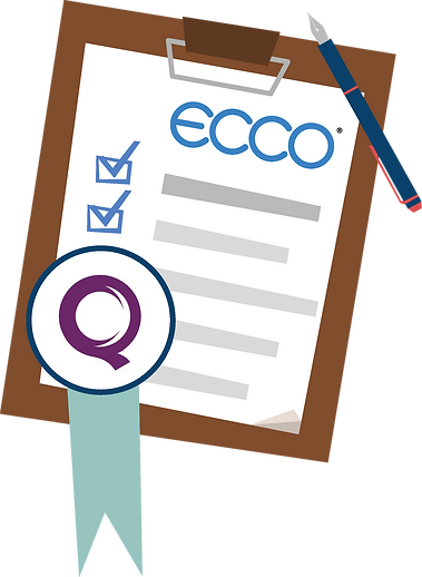 ECCO evidences the KLOEs throughout every part of the system