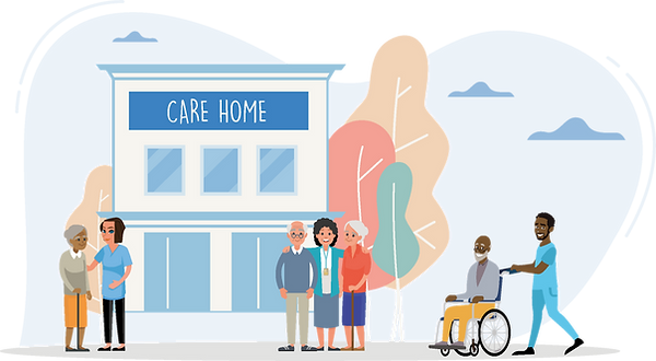 All care and extra care service needs are recorded and monitored within the ECCO software