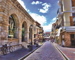 Rethymno Old Town Street