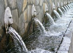 Spili Village Lion-head Springs