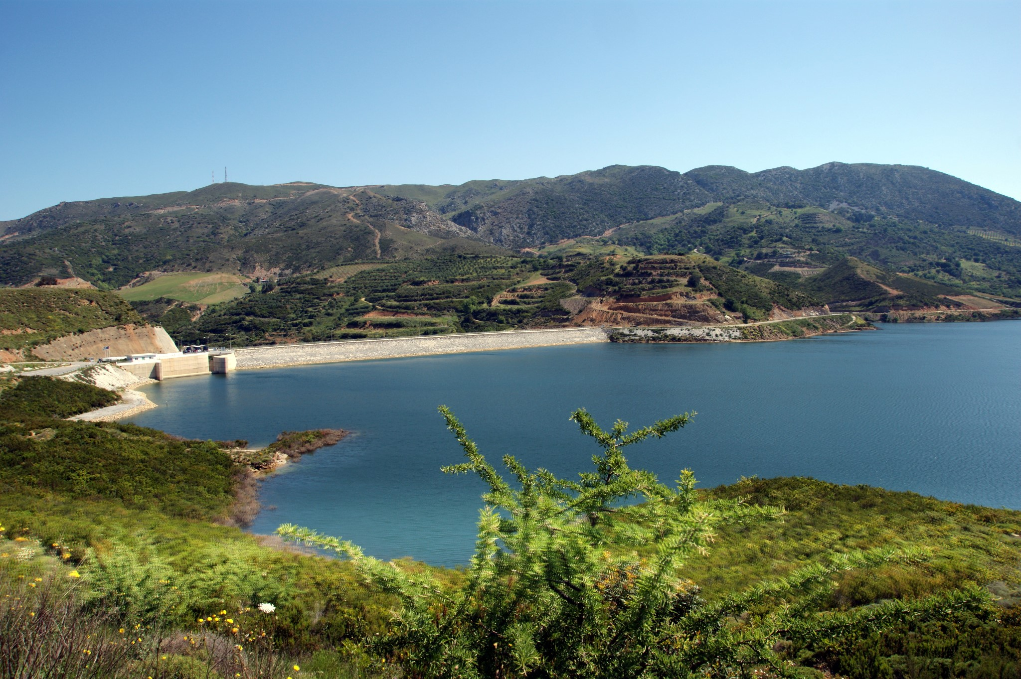 Potami Dam Lake Amari