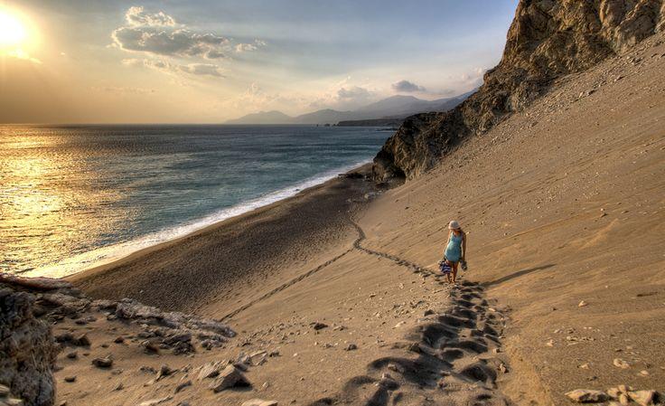 Sand Hills Beach Agios Pavlos