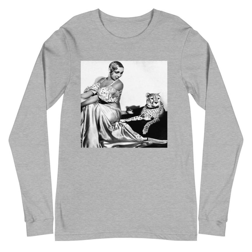 Josephine Baker unisex-long-sleeve-tee