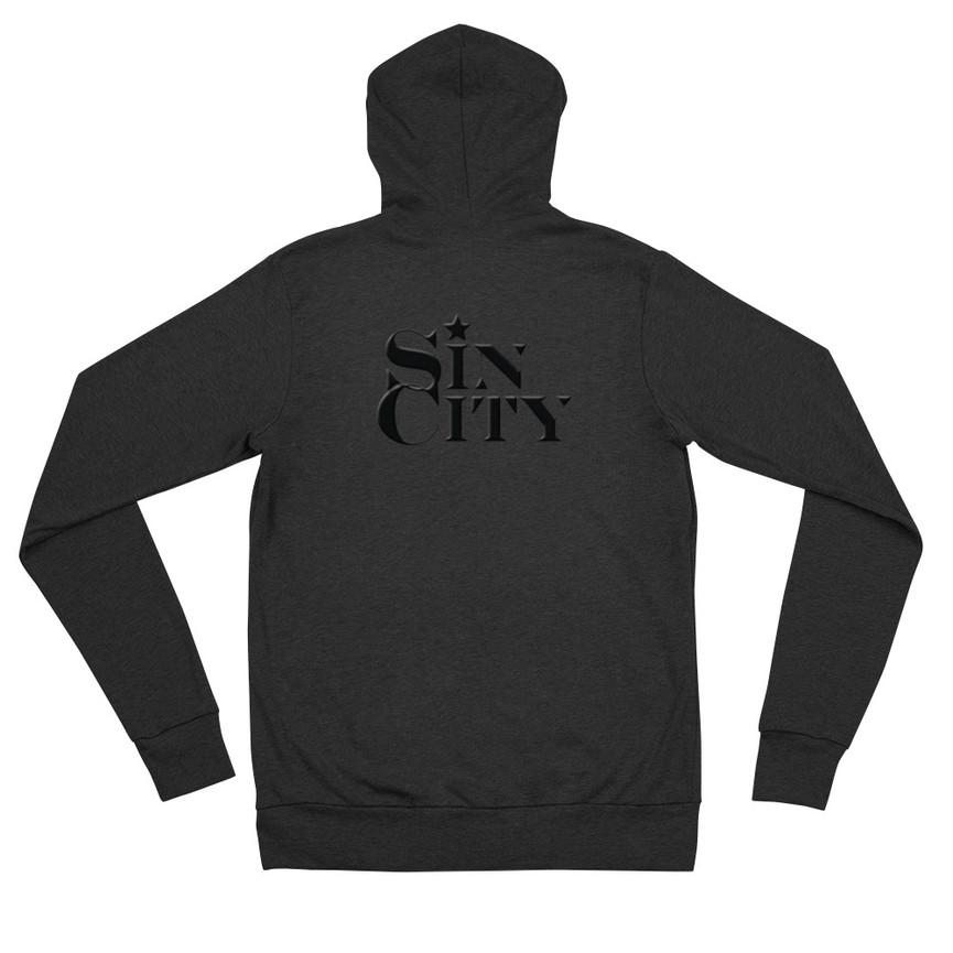 QR-Code unisex-lightweight-zip-hoodie-charcoal-b