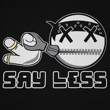 SAY IT WITH  less