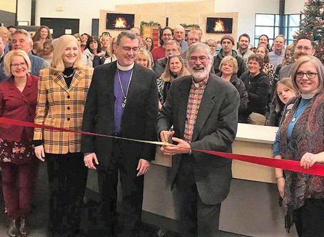 Calvary Lutheran Church Ribbon Cutting