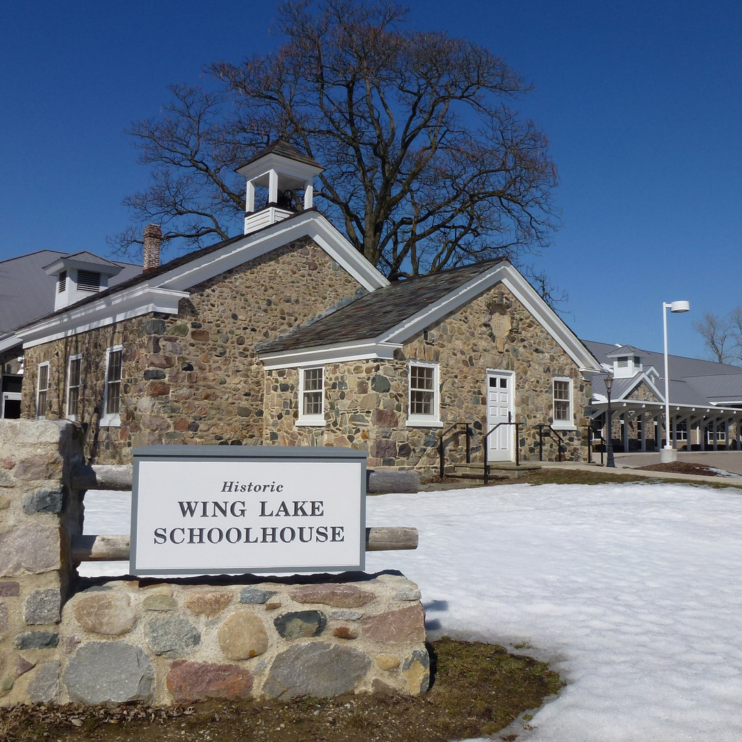 Wing Lake Stone Schoolhouse