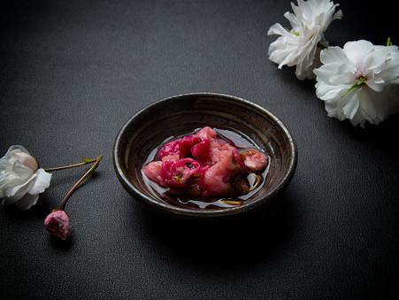 桜のシロップ漬を作りましたよ🌸✨