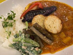 サクラカフェ日暮里の野菜カレー
