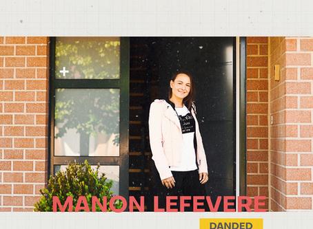 E-ROUNDUP: Manon Lefevere (DANDED)