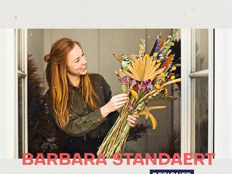 Barbara ontwerpt interieurs, concepten en meubels met een nieuwe 'standaert'