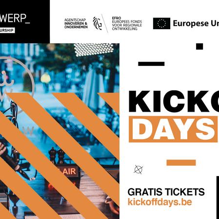 De KICKOFF DAYS maken start van het academiejaar tot festival voor ondernemende studenten