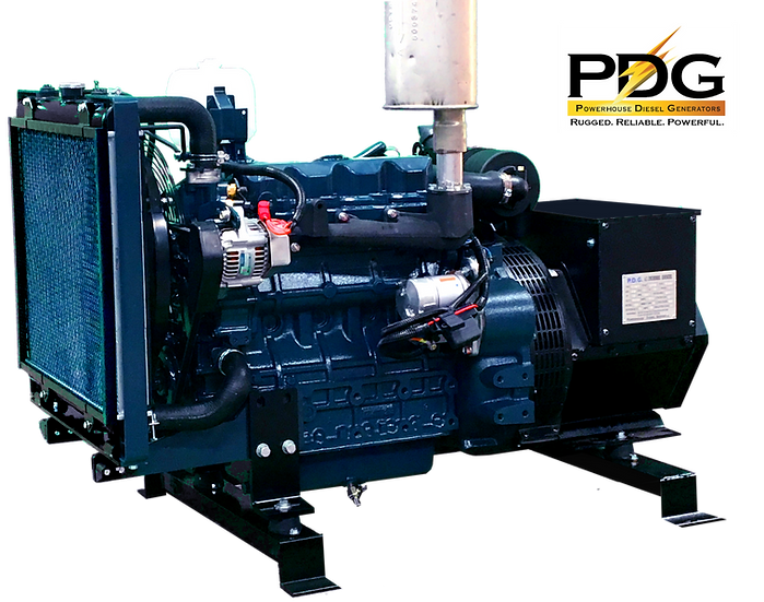 Kubota 18 kW Diesel Generator