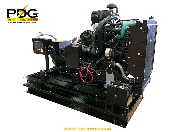 50 kW Diesel Generator FPT