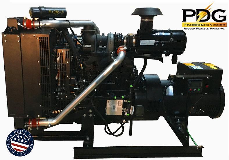 John Deere 55 kW Diesel Generator