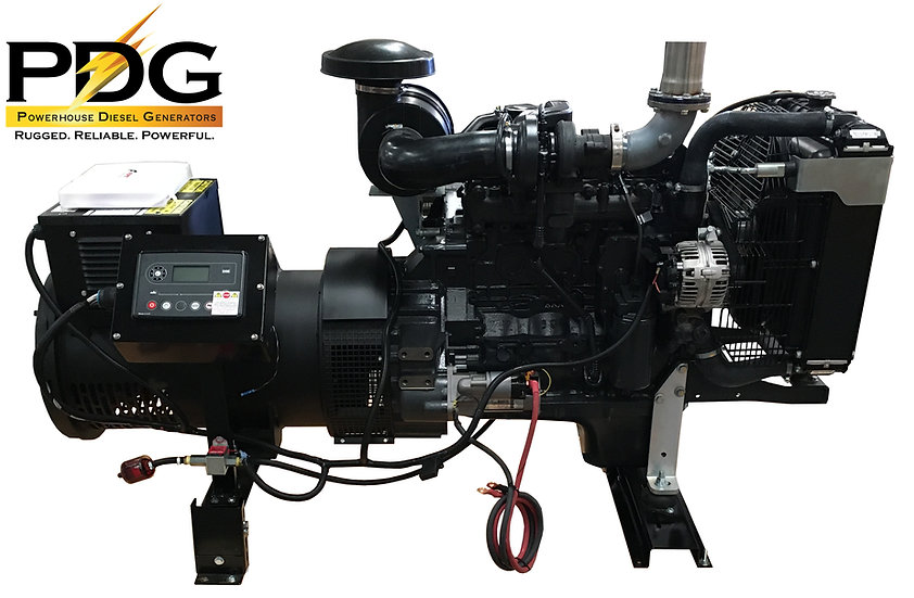 75 kW Case New Holland (FPT)  Diesel Generator