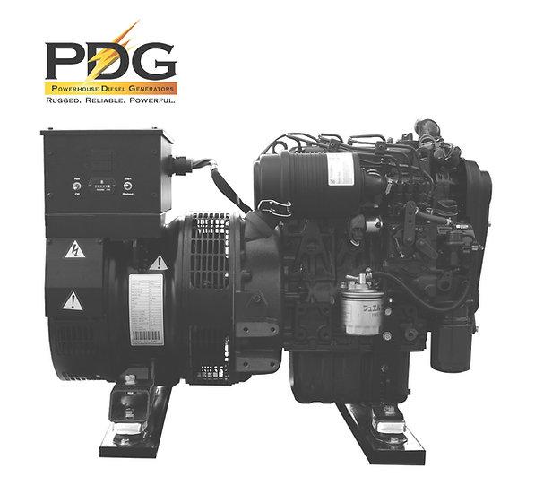 Yanmar 8 kW Marine Diesel Generator (Keel Cooled)