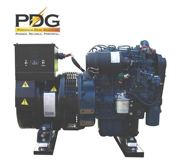 Kubota 9.5 kW Marine Diesel Generator (Keel Cooled)