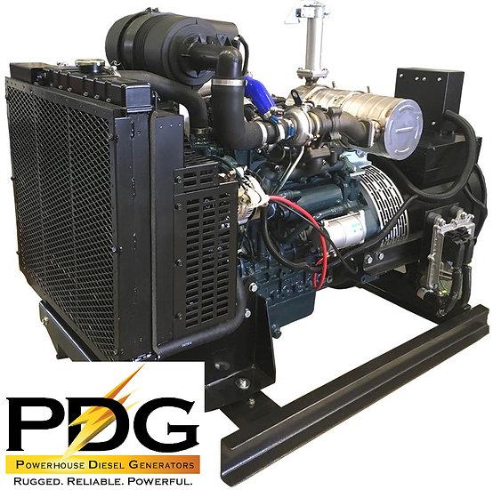 Kubota 27.5 kW Diesel Generator Tier 4