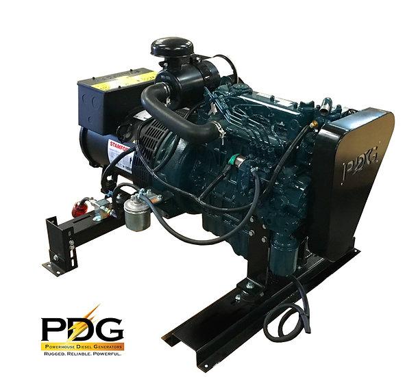 Kubota 12.5 kW Marine Diesel Generator (Keel Cooled)