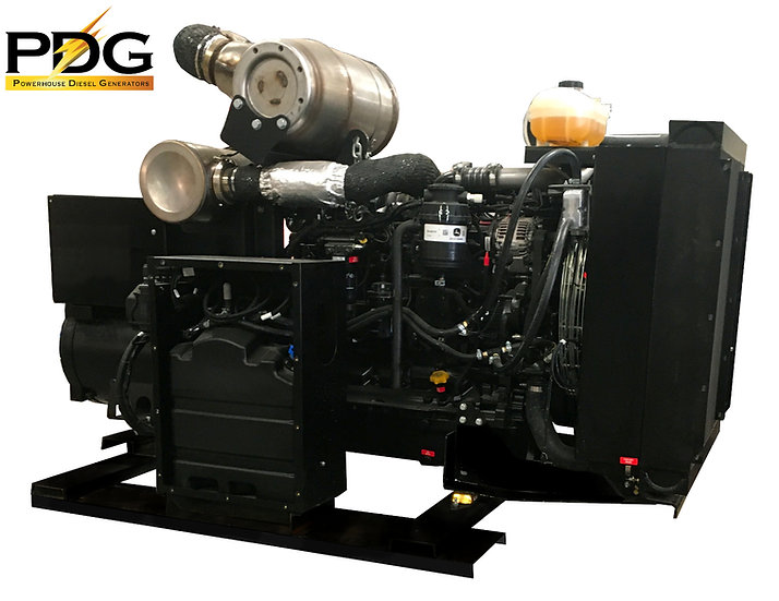 John Deere 200 kW Diesel Generator Tier 4