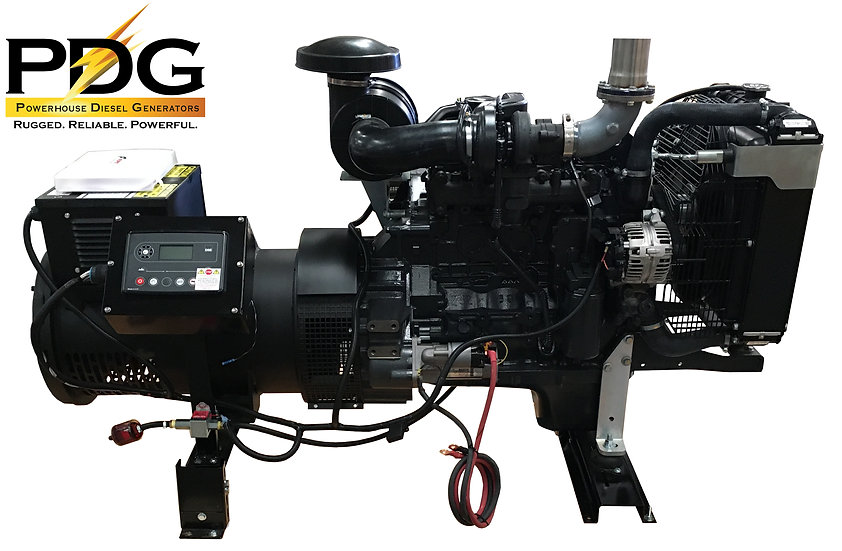Case New Holland (FPT) 45 kW Diesel Generator